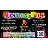 Mystical Fire Flame Colorant Vibrant Long-Lasting Pulsating Flame Color Changer for Indoor or Outdoor Use 0.882 oz. Packets 2