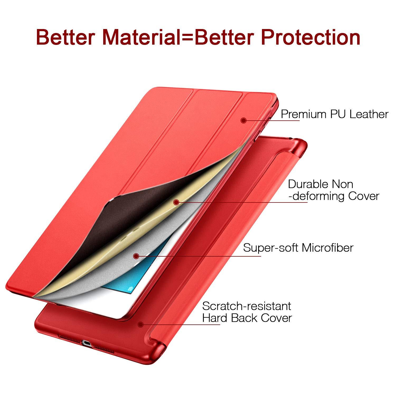 Custodia Ultra Sottile e Leggere ESR Cover Nuovo iPad 2018//2017 9.7 Pollici Slim Smart Case Magnetico con la Funzione Auto Sleep per Apple New iPad 9,7 inch 2018//2017 Release.