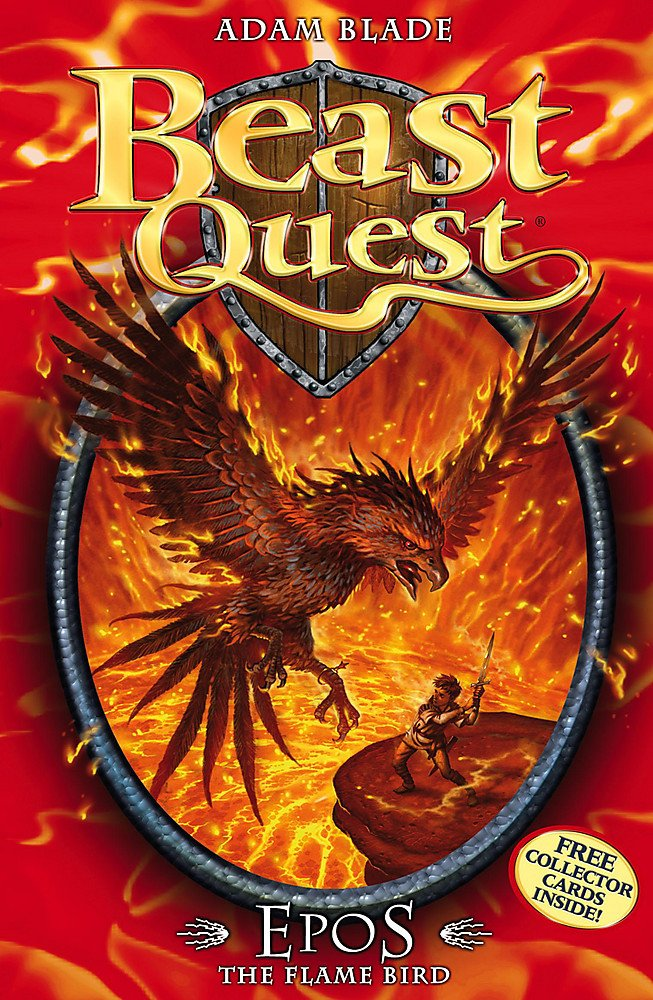 Epos The Flame Bird: Series 1 Book 6 (Beast Quest, Band 6)