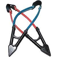 Shagun Sales Handmade Gulel Powerful Shot Catapult/Slingshot/Gulel/Gulati/Shikaar for Hunting Pack of 2