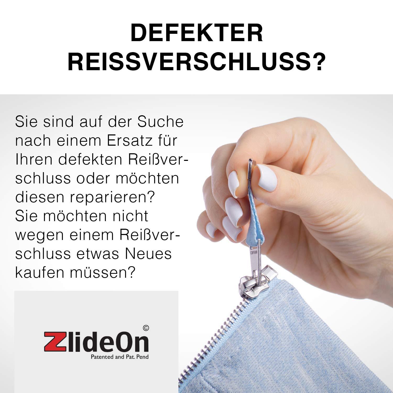 756397402da89 ZlideOn Reißverschluss reparieren 5B-2 - Innovation aus Höhle der Löwen -  Egal ob der Reissverschluss Schieber klemmt oder kaputt ist, mit ZlideOn ...