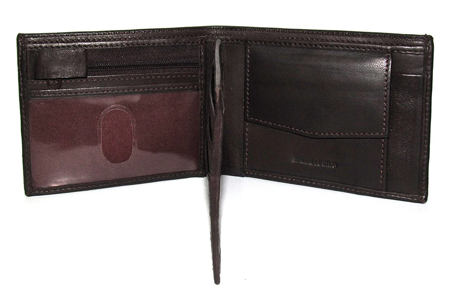 Sakkas Bifold Wallets for Men with Coin Pocket and Credit Card Slots 5055460189135