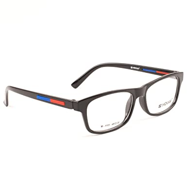 9f4717f3f93 HD Clair Stylish Rectangle Spectacle Unisex Eyeframe and Reading Eyeglasses   Amazon.in  Clothing   Accessories