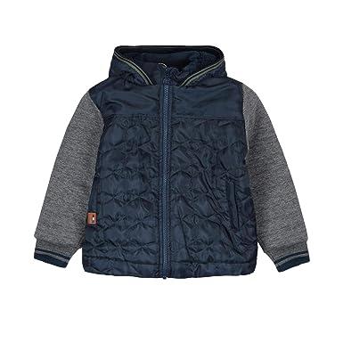 boboli Fleece Jacket Combined For Boy, Abrigo para Niños: Amazon.es: Ropa y accesorios