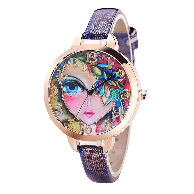 Amazon.com: Waist Watch FanTeeDa Women Girl Watches Bracelet ...
