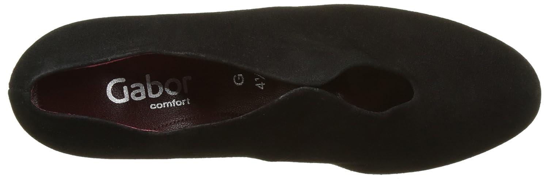 Gabor Schwarz Damen Comfort Fashion Pumps Schwarz Gabor (Schwarz Fu Rot) f7b468