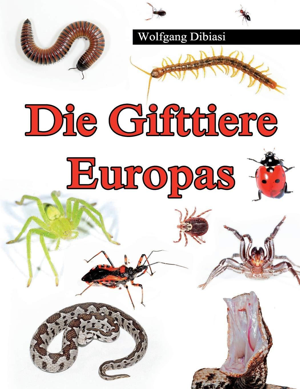 Die Gifttiere Europas