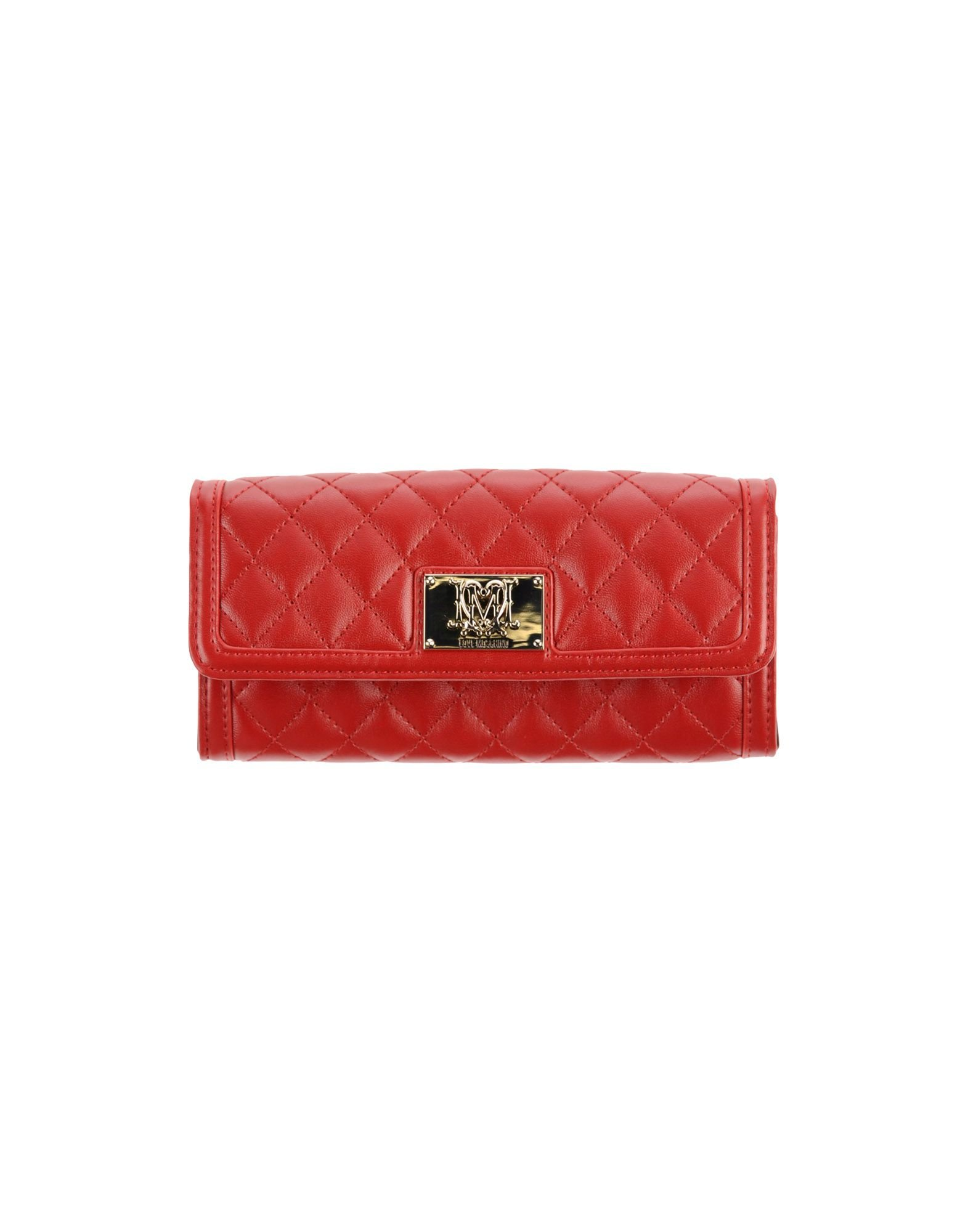 Love Moschino Signature Super Quilted Deluxe Continental Luxury Wallet Clutch...