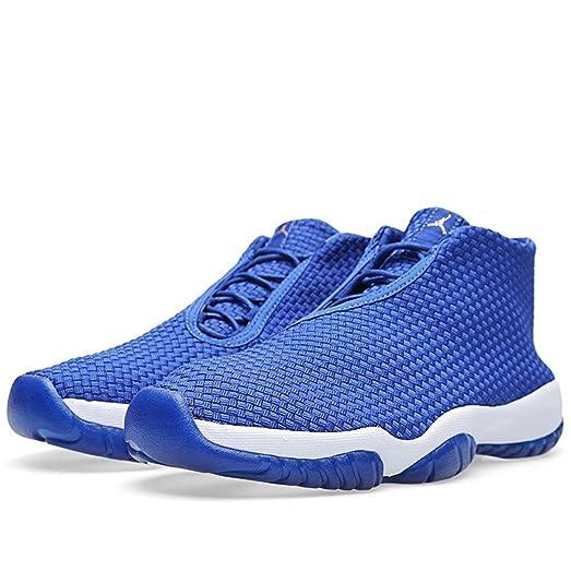 quality design 88425 1c847 ... inexpensive nike air jordan future blue varsity royal vrsty ryl white  trainer size 6.5 8e8b9 109ad