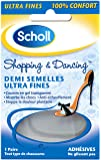 SCHOLL - Demi Semelles Autocollantes Ultra Fines Shopping et Dancing