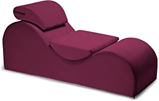 product image for Liberator Esse Lounge Chair, Merlot Velvish