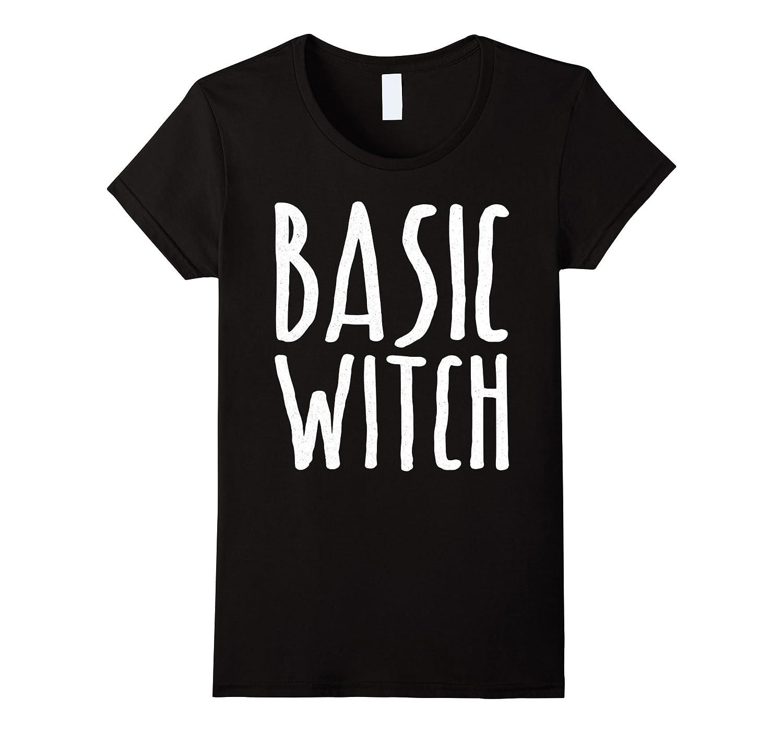 Womens Basic Witch T-Shirt Halloween Gift Shirt-T-Shirt