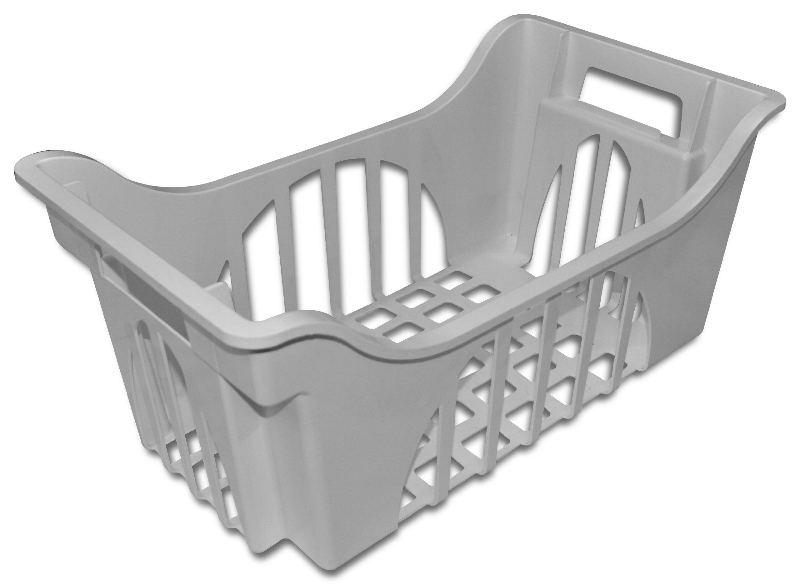 Whirlpool 68001709A Freezer Basket-Gray