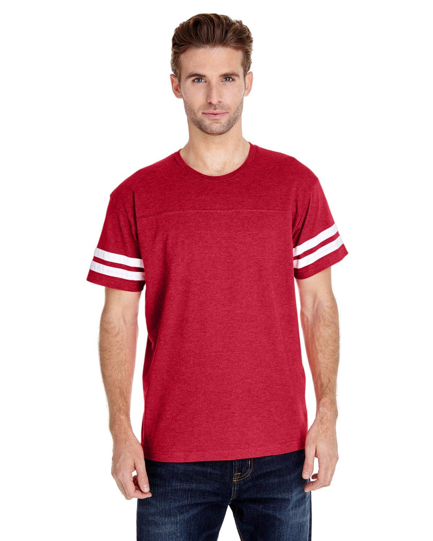 LAT Sportswear SHIRT メンズ B00TACFUFE M|Vn Red/Bd White Vn Red/Bd White M