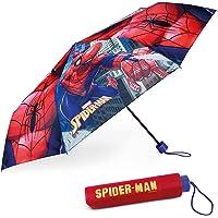 Paraguas Plegable Infantil de Spiderman - BONNYCO | Paraguas Antiviento para Niños con Estructura Reforzada | Paraguas…