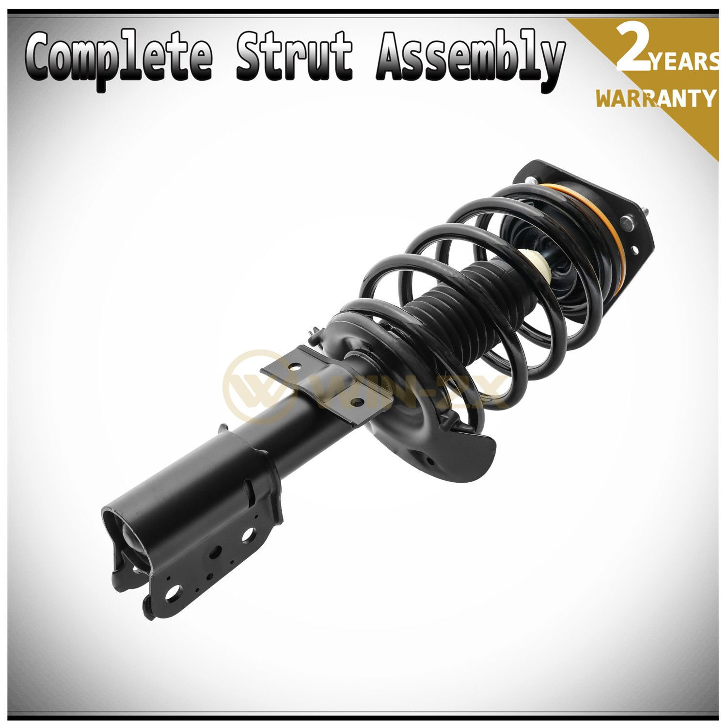 WIN-2X New 1pc Front Left or Right Side Quick Complete Suspension Shock Strut /& Coil Spring Assembly Fit 04-08 Pontiac Grand Prix With 16 /& 17 Wheels Only