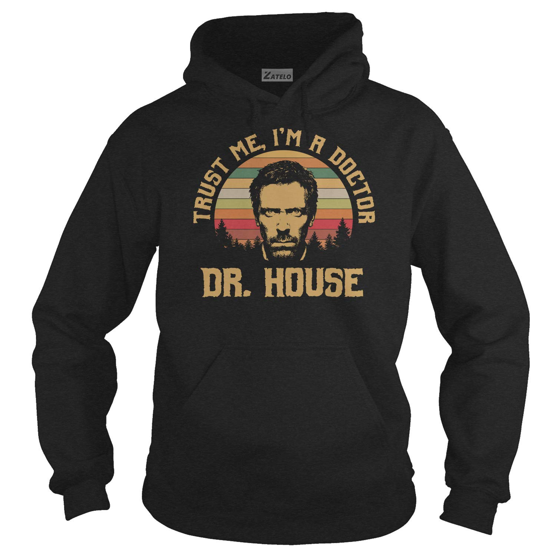 Im A Doctor DR House Trust ME Vintage Retro T-Shirt