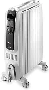 De'Longhi Dragon 4, Portable Oil Column Heater, 1500W, TRD41500ET, White