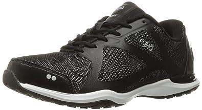 Ryka Women's Grafik Cross-Trainer Shoe, Black/Grey, ...