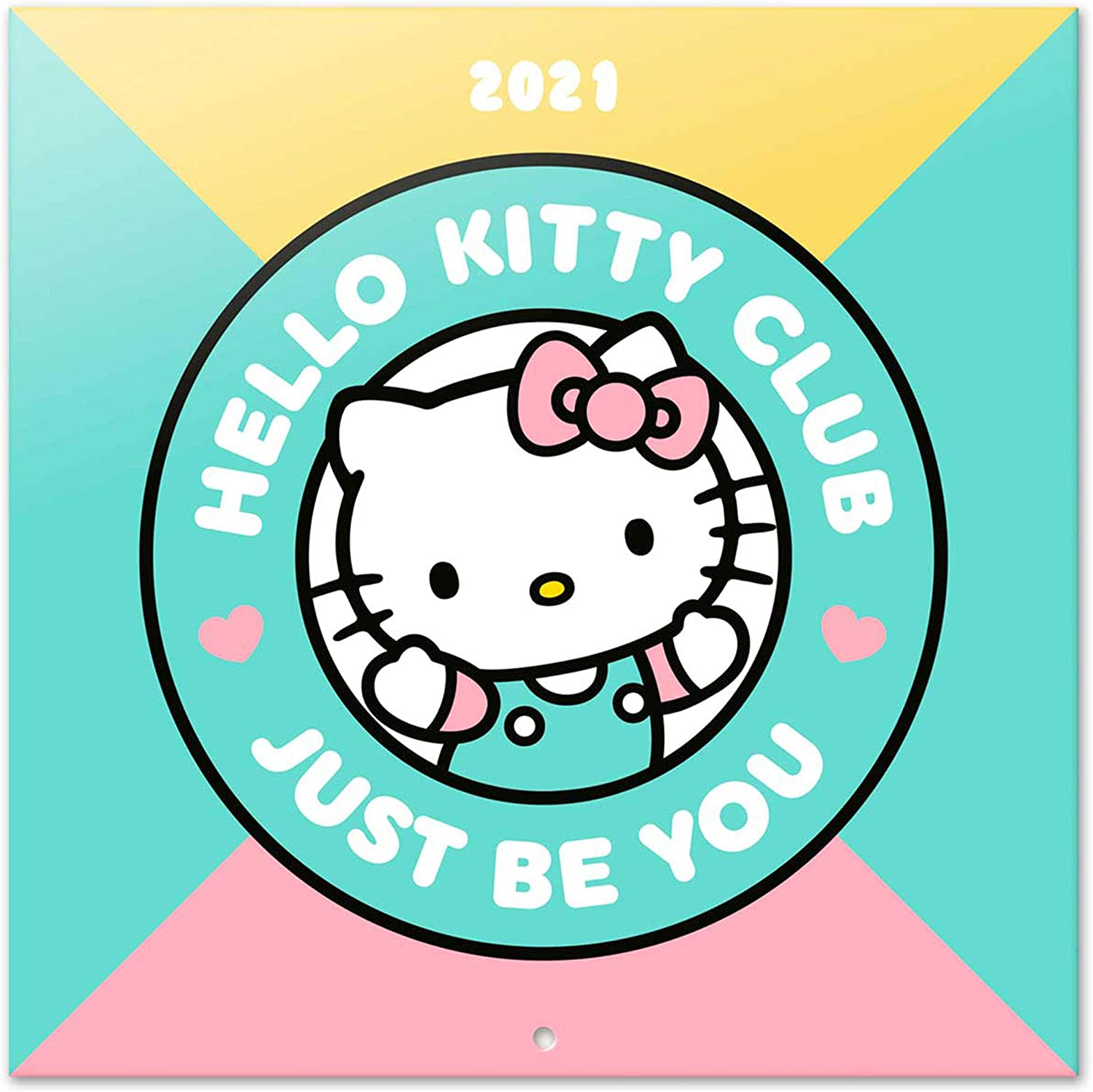 Hello Kitty - Kalender 2021 - 30x30 inkl. Poster
