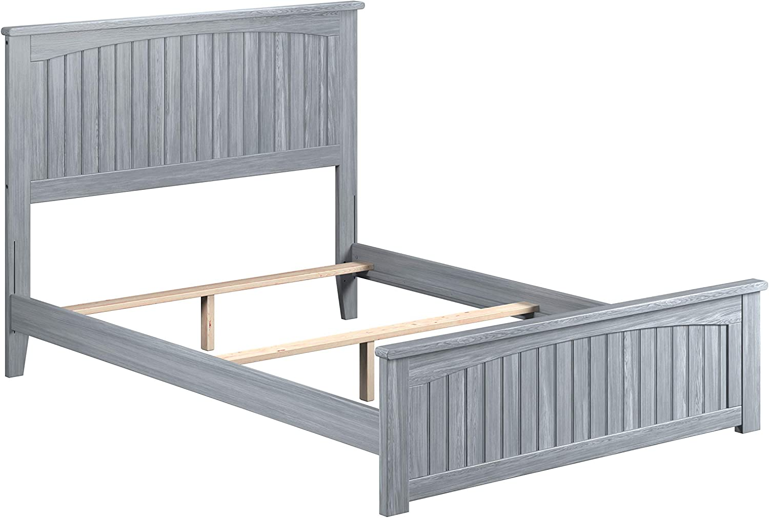 Atlantic Furniture Nantucket Bed with Matching Footboard, Full, Driftwood