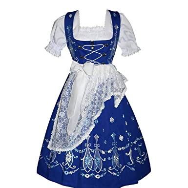 a29543e8644a81 Amazon.com  Dirndl Trachten Haus 3-Piece Long German Wear Party Oktober fest  Waitress Dress  Clothing