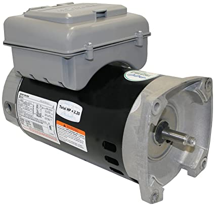 Century Electric Motor 1 hp 3450rpm 56Y Frame 230V 2 Speed Square