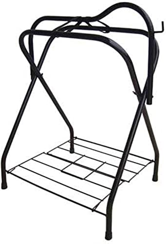 BACKYARD EXPRESSIONS PATIO HOME GARDEN 909087 Folding Saddle Rack, One Size