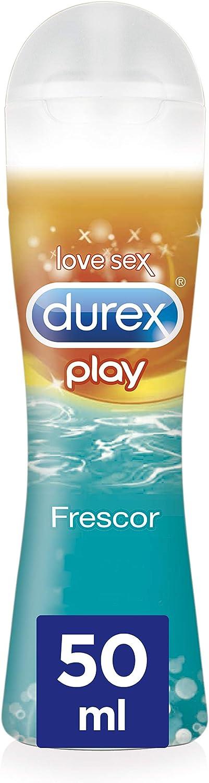 Durex Lubricante de Base Agua Efecto Frío - 50 ml