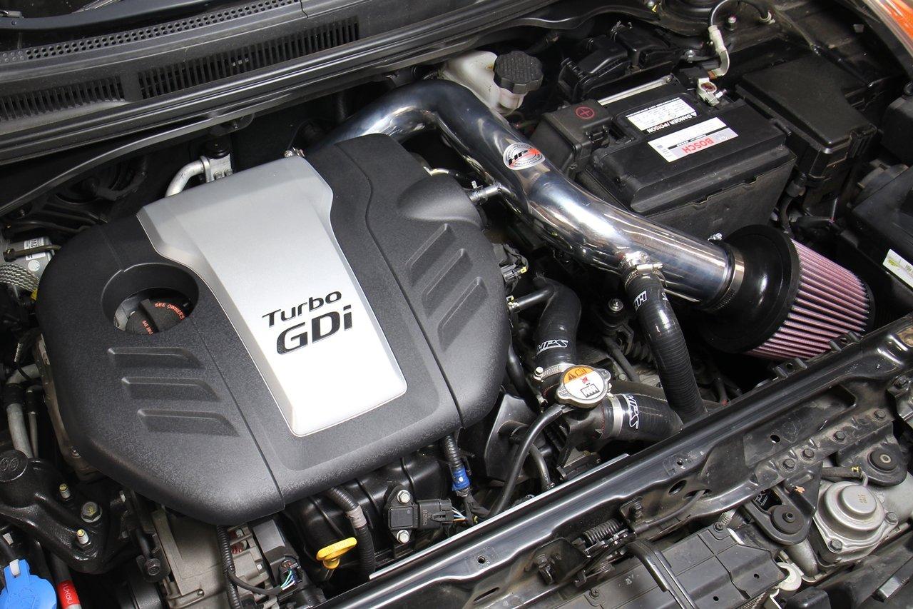 Amazon.com: HPS Polish Cold Air Intake Kit Converts to Shortram for 13-17 Hyundai Veloster 1.6L Turbo: Automotive