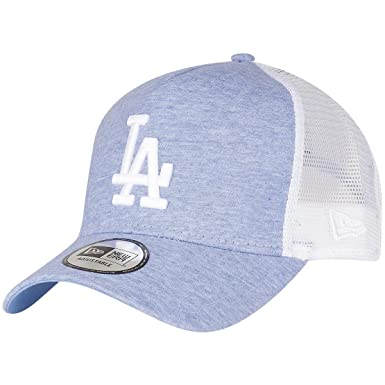 A NEW ERA Era Jersey Essential los Angeles Dodgers Open Market Blue Optic  White Gorra 9 Forty Trucker Hombre 4e637e4ef40