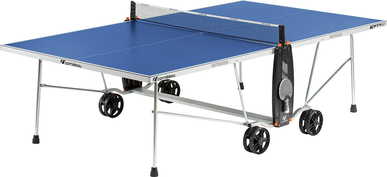 CORNILLEAU Mesa de ping pong Sport One Outdoor azul