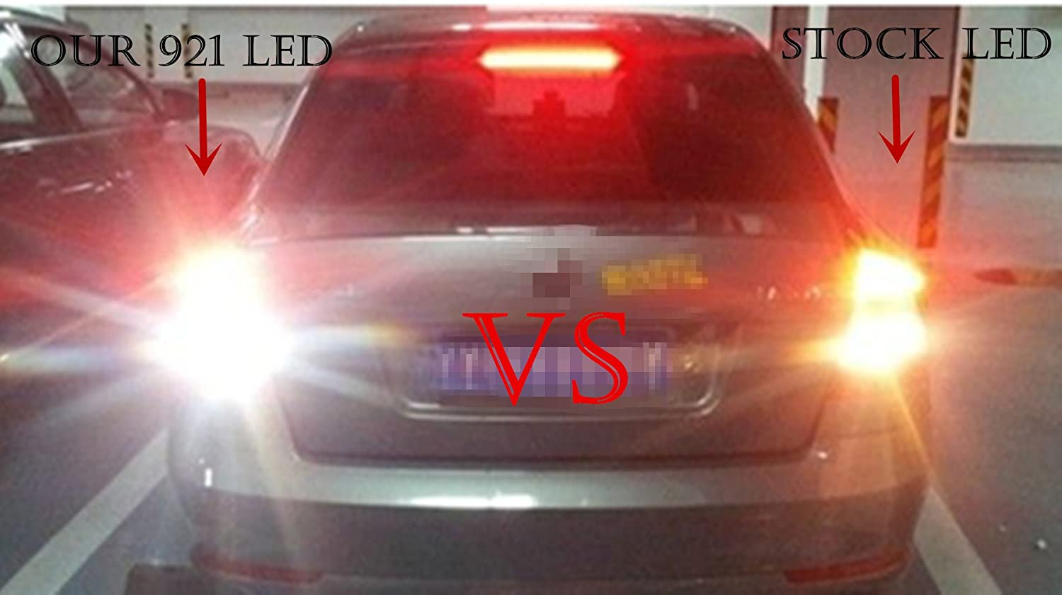 Alla Lighting 2pcs Back Up Reverse Light Super Bright 2003 Honda Accord Backup Lights Wiring White Led Bulbs Lamps For 2012 Coupe Only And 2013 2017