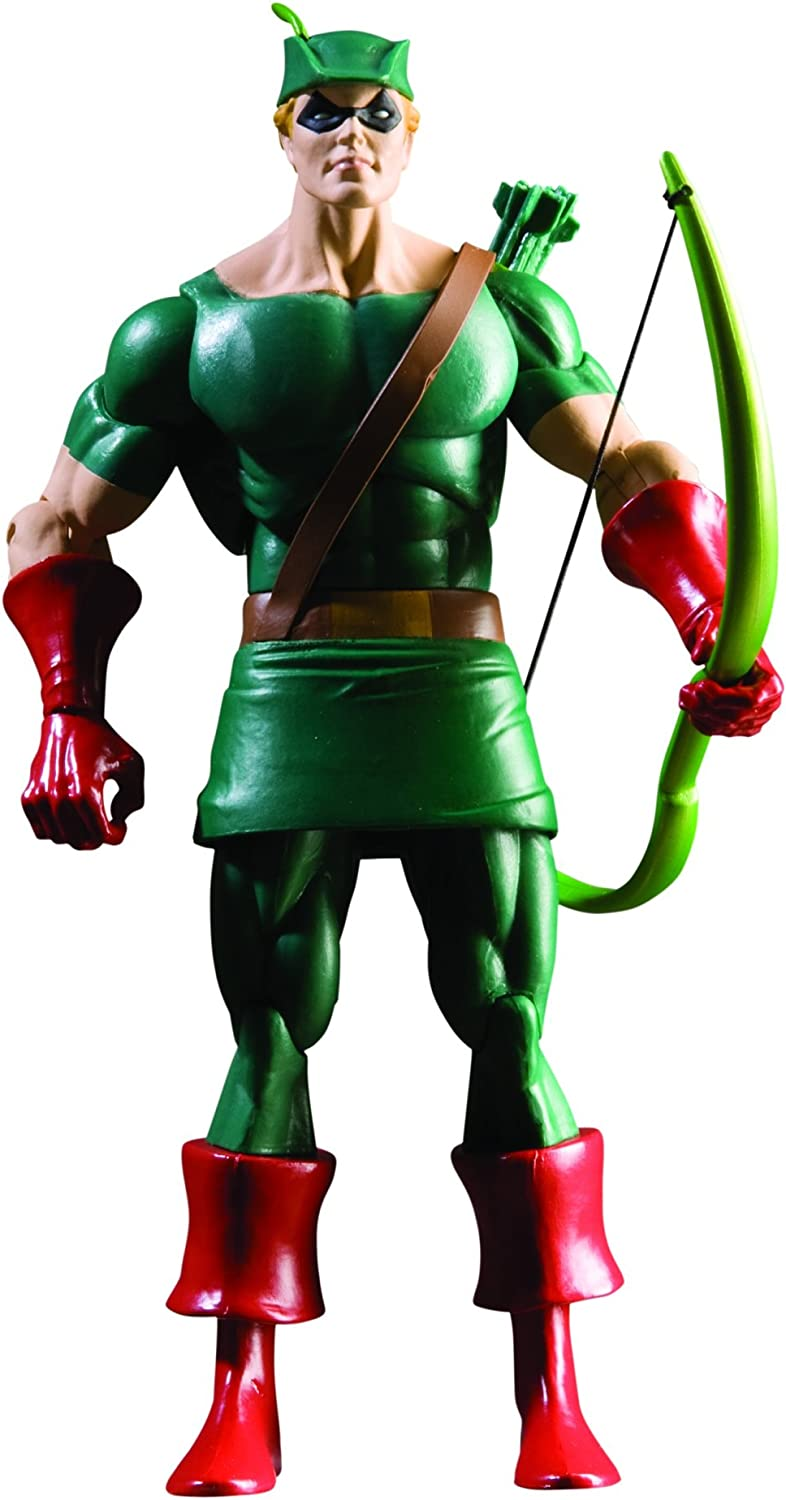DC Comics History of The DC Universe: Series 1 Green Arrow Action Figure