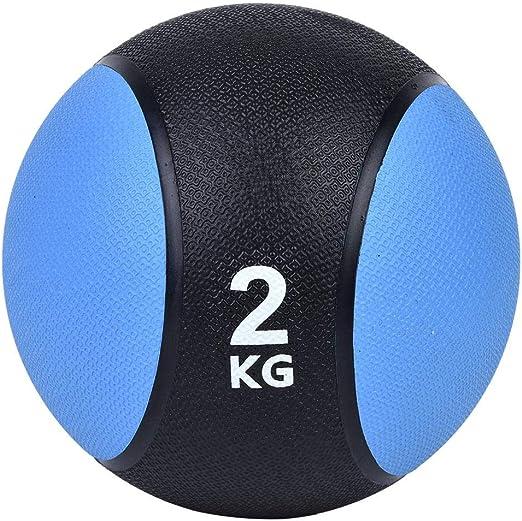 Desconocido Balón Medicinal, 2 kg Balón Medicinal para Hacer ...