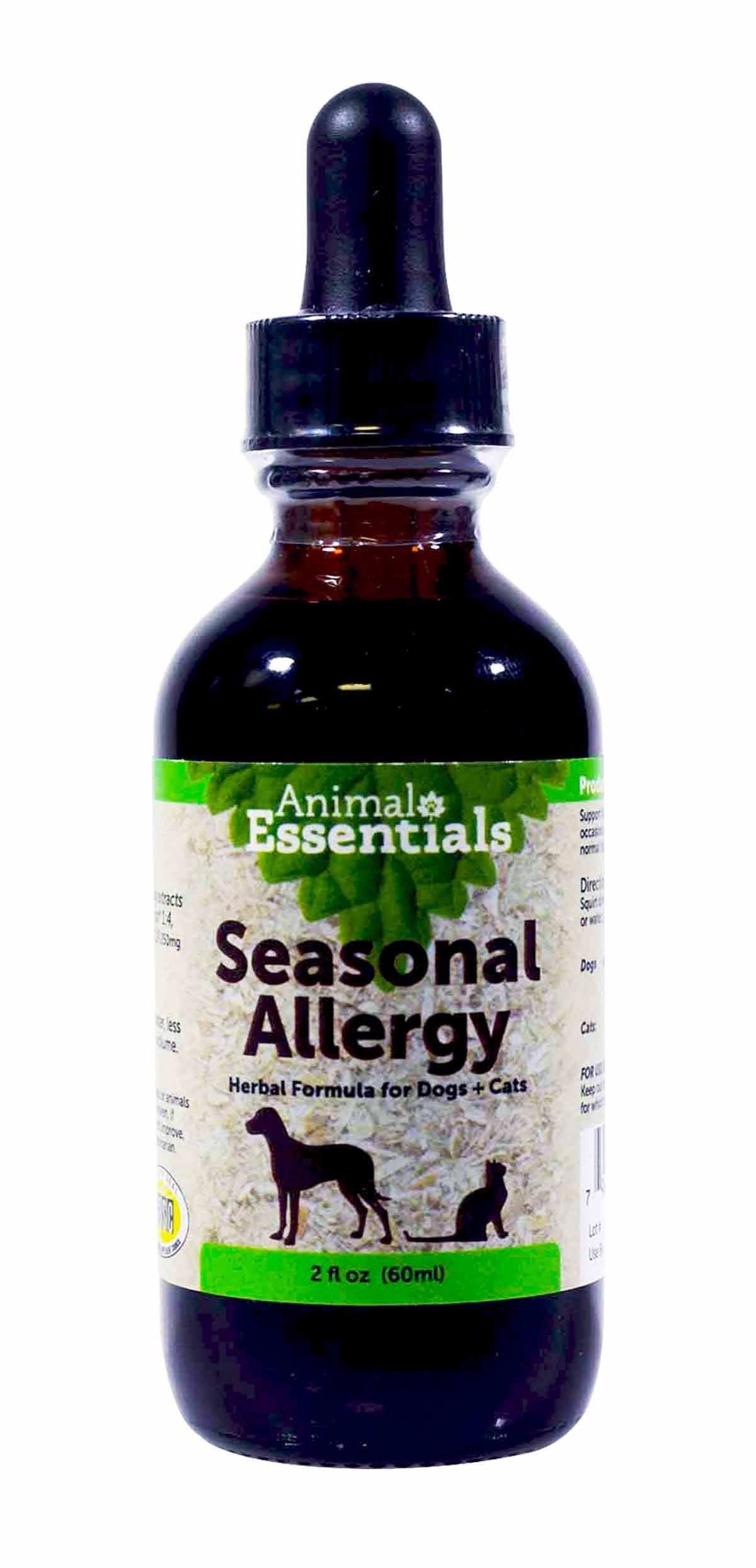 0ANIV Animal Essentials Seasonal Allergy Herbal Formula for Dogs + Cats 2 fl oz