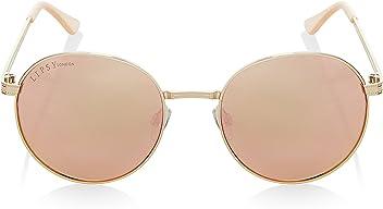 443299f823 LIPSY Women Round Mirror Sunglasses