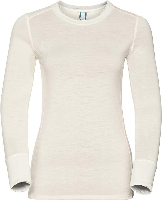 Maglia intima termica Arctic in lana merino da donna con girocollo Thermowave