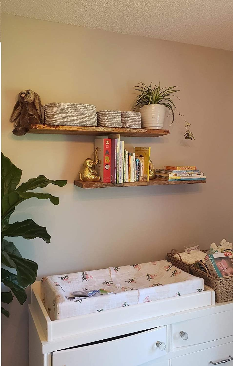 Blind Shelf Supports,Hidden Brackets Concealed Supports for DIY or Custom Wall Shelving Invisible Support for Shelves-Set of 2 6 Rod with 1//2 Diameter Floating Shelf Brackets for Floating shelve