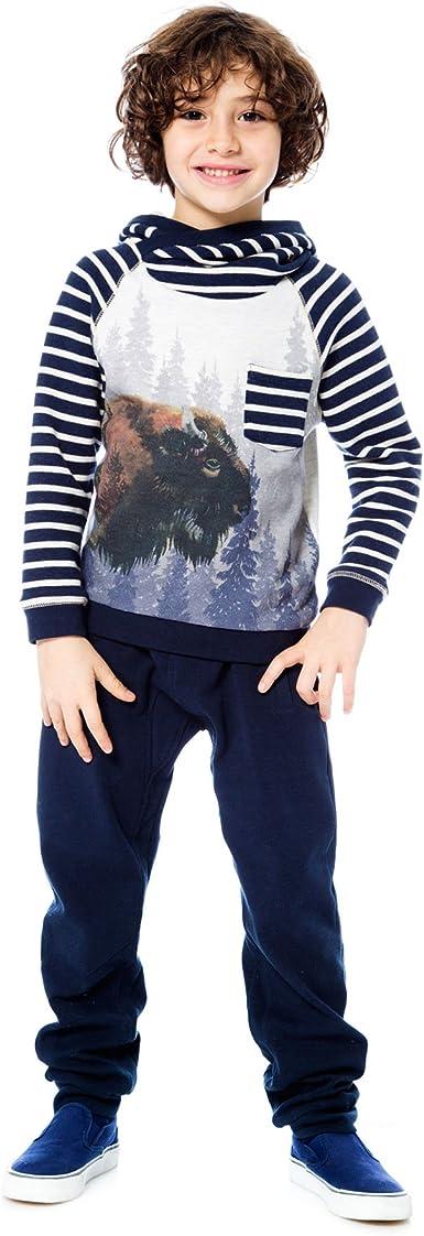 Sizes 5-12 Deux par Deux Boys Denim Pants Hey Buffalo Hill