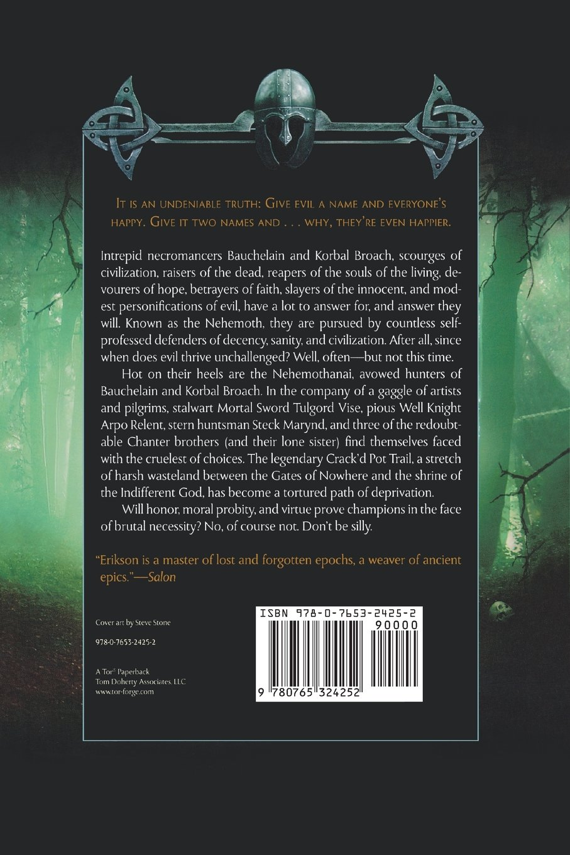 Crack'd Pot Trail: A Malazan Tale Of Bauchelain And Korbal Broach: Steven  Erikson: 9780765324252: Amazon: Books