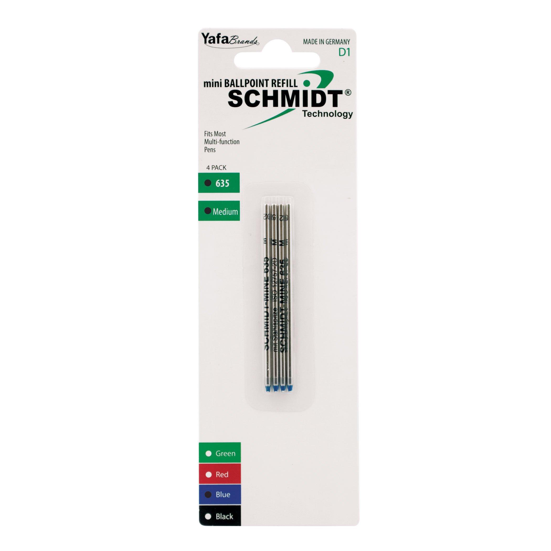 Recarga Tinta Schmidt Medio Azul (SC58150) [4un.]