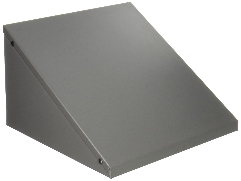 Gray Salsbury Industries 88852GY Sloping Hood for 12-Inch Modular Locker