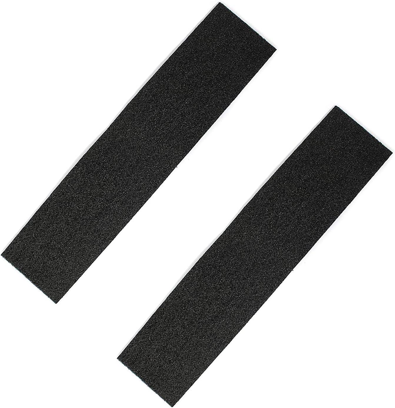 (2 Pack) Air Filter Factory Compatible Replacement For Frigidaire 1055417 Charcoal Carbon Microwave Oven Filter Pads