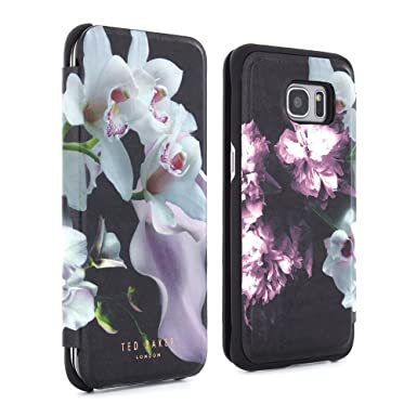 online store adf53 7e030 Galaxy S7 EDGE Case, Official TED BAKER® SS16 Fashion Slim Folio Style Case  for Samsung Galaxy S7 EDGE with Built in Make-up Mirror Folio Case in ...