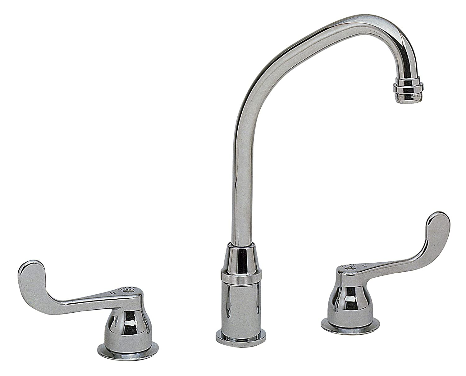Elkay LKD2437BH Kitchen Faucet - Touch On Kitchen Sink Faucets ...