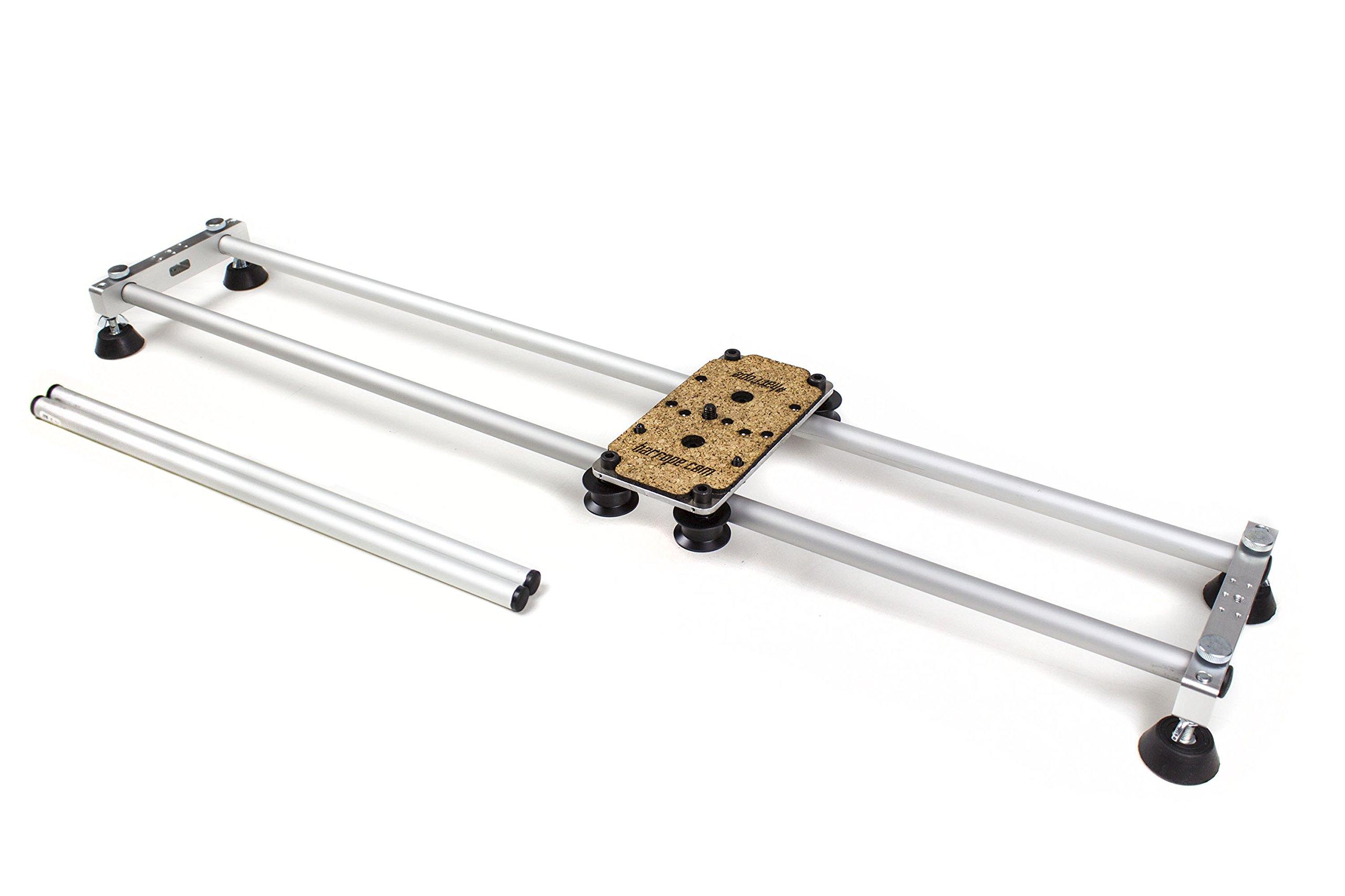 Harrope S1-Slider - Slider Profesional Dolly 2x1 de 100cm y 50cm de Largo para