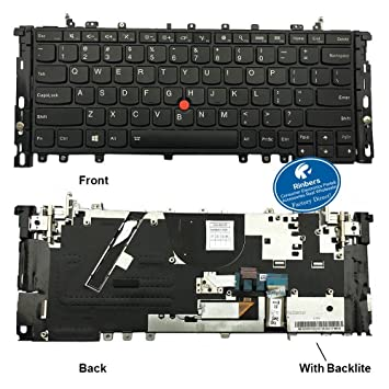Amazon com: Rinbers Black US Layout Laptop Keyboard with