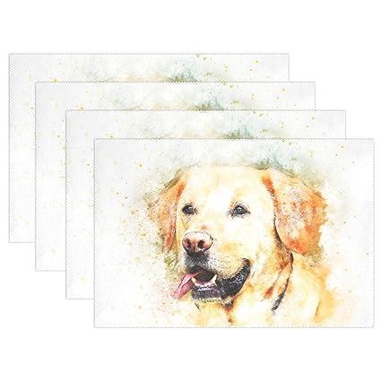 Amazon com: DNOVING Dog Pet Labrador Animal Portrait Art