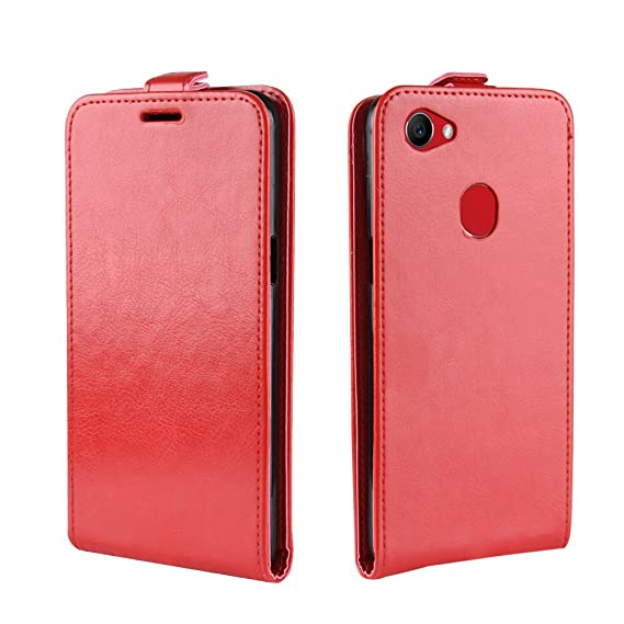 the latest 0f25f 5d8a2 Amazon.com: Oppo F7 Cover, LifeePro Oppo F7 Leather PU Wallet Credit ...